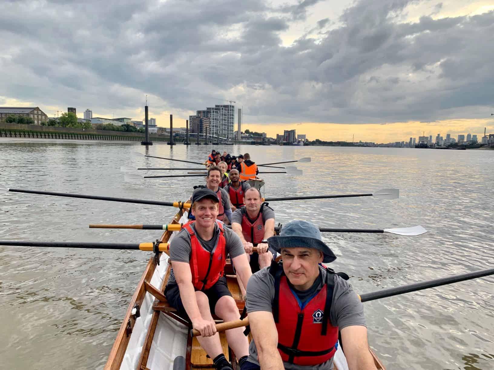 Nomura rowing